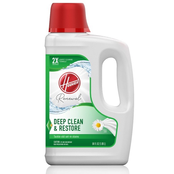 Hoover Renewal Deep Cleaning Carpet Cleaner Solution Formula 64oz