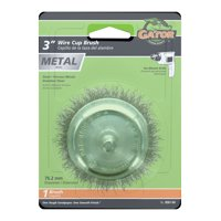 """Gator Grit 3"""" Wire Cup Brush"""