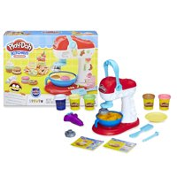 Play-Doh Kitchen Creations Spinning Treats Mixer Toy, 6 Cans