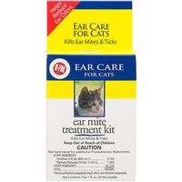 Miracle Care R 7 M Ear Mite Treatment Kit For Cats