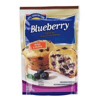 Hill Country Fare Blueberry Muffin Mix Pouch Natural & Artificial Flavors
