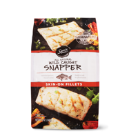 Sam's Choice All Natural Wild Caught Snapper Fillets, 12 oz