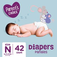 Parent's Choice Diapers, Size Newborn, 42 Diapers