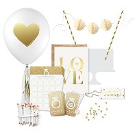 Inklings Paperie® Gold Bridal Shower Collection