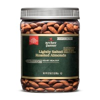 Lightly Salted Roasted Almonds - 32oz - Archer Farms™