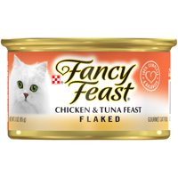 Fancy Feast Flaked Chicken & Tuna Feast Wet Cat Food 3 oz. Can