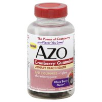 AZO Cranberry Gummies, Urinary Tract Health, Helps Cleanse & Protect, 40 ct