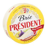 President Brie Cheese, Soft‑Ripened