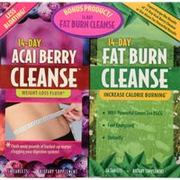 Applied Nutrition 14-Day Acai Berry Cleanse Dietary Supplement Tablets - 56 CT