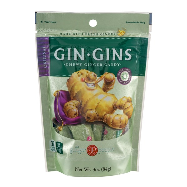 The Ginger People Gin-Gins Chewy Ginger Candy Original