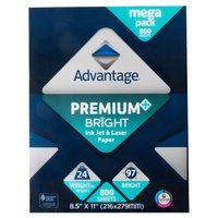 "Advantage Multi-Purpose Paper 8.5""X11"" 800 Sheets"