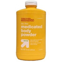 Medicated Body Powder Talc Free - 10oz - Up&Up™