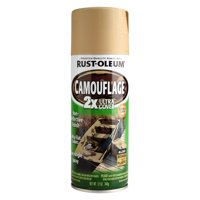 Rust-Oleum Camouflage 2X Ultra Cover Sand, 12 oz