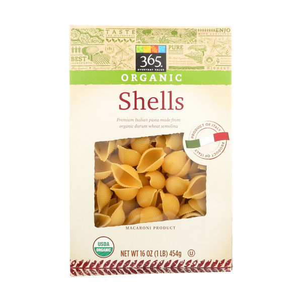 365 everyday value® Organic Shells, 16 oz