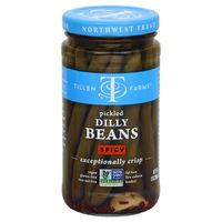 Tillen Farms Dilly Beans, Spicy, Pickled