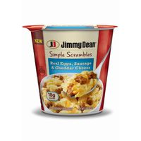 Jimmy Dean Sausage Simple Scrambles