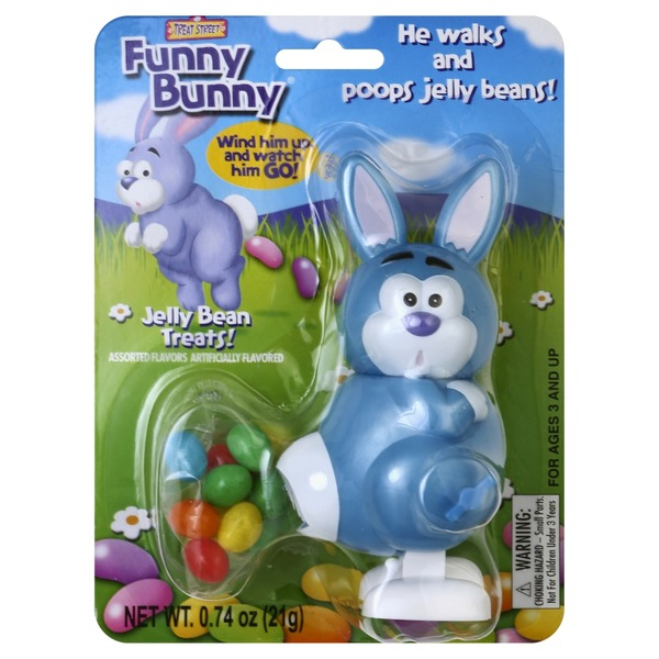 Treat Street Easter Bunny with Jelly Beans
