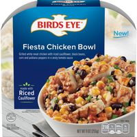 Birds Eye Veggie Made Fiesta Chicken Bowl with Riced Cauliflower Frozen Meal