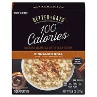 Better Oats Fit Cinnamon Roll Oatmeal - 10ct