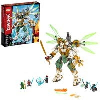 LEGO Ninjago Lloyd's Titan Mech 70676 Ninja Toy build with Minifigures