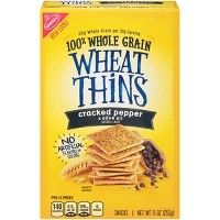Wheat Thins Cracked Pepper & Olive Oil Crackers - 9oz