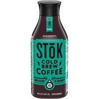 SToK Un-Sweet Black Cold Brew Iced Coffee - 48 fl oz