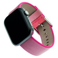 Woven Nylon Band For 42 & 44MM Apple Watch® - Pink