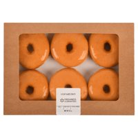 Freshness Guaranteed Glazed Donuts, 6 Count