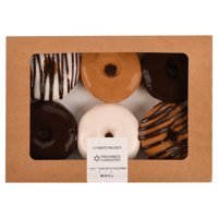 Freshness Guaranteed Assorted Ring Donuts, 6 Count