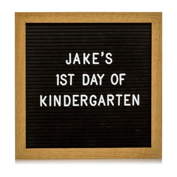 "Pearhead 10"" x 10"" Back to School Letterboard Set"