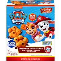 Mrs. Freshley's Paw Patrol Pawfect Choco-Chip Mini Chocolate Paw Muffins, 8.25 Oz, 5 Packs