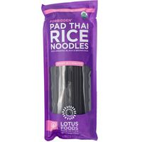 Lotus Foods Rice Noodles, Pad Thai, Forbidden