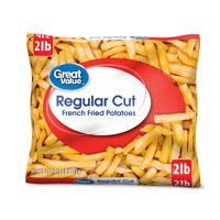 Great Value Regular Cut French Fried Potatoes, 32 oz