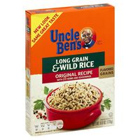 Uncle Ben's Flavored Grains Long Grain & Wild Original Recipe