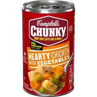 Campbell's Chunky Hearty Chicken with Vegetables Soup, 18.6 oz.