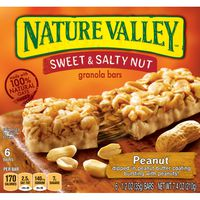 Nature Valley Granola Bars, Sweet and Salty Nut, Peanut