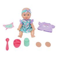 Kid Connection 11-Piece Mini Baby Doll Play Set