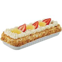 H-E-B 1/8 Sheet Tres Leches Cake With Two Fruits