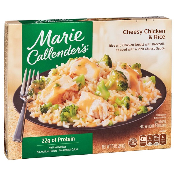 Marie Callender's Cheddar Cheesy Chicken And Rice