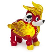 PAW Patrol, Mighty Pups Charged Up Marshall Collectible Figure with Light Up Uniform