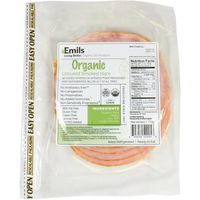 Emils Organic Uncured Smoked Ham
