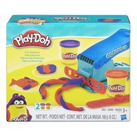 Play-Doh Fun Factory Set, for Ages 3 and Up, Includes 2 Cans