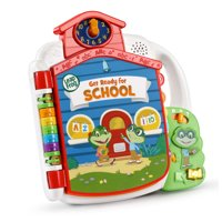 LeapFrog Tad's Get Ready for School Book, Preschooler Book with Music