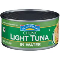 Hill Country Fare Chunk Light Tuna In Water