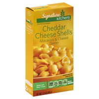 Signature Select Three Cheese With Mini Shells Macaroni & Cheese Dinner