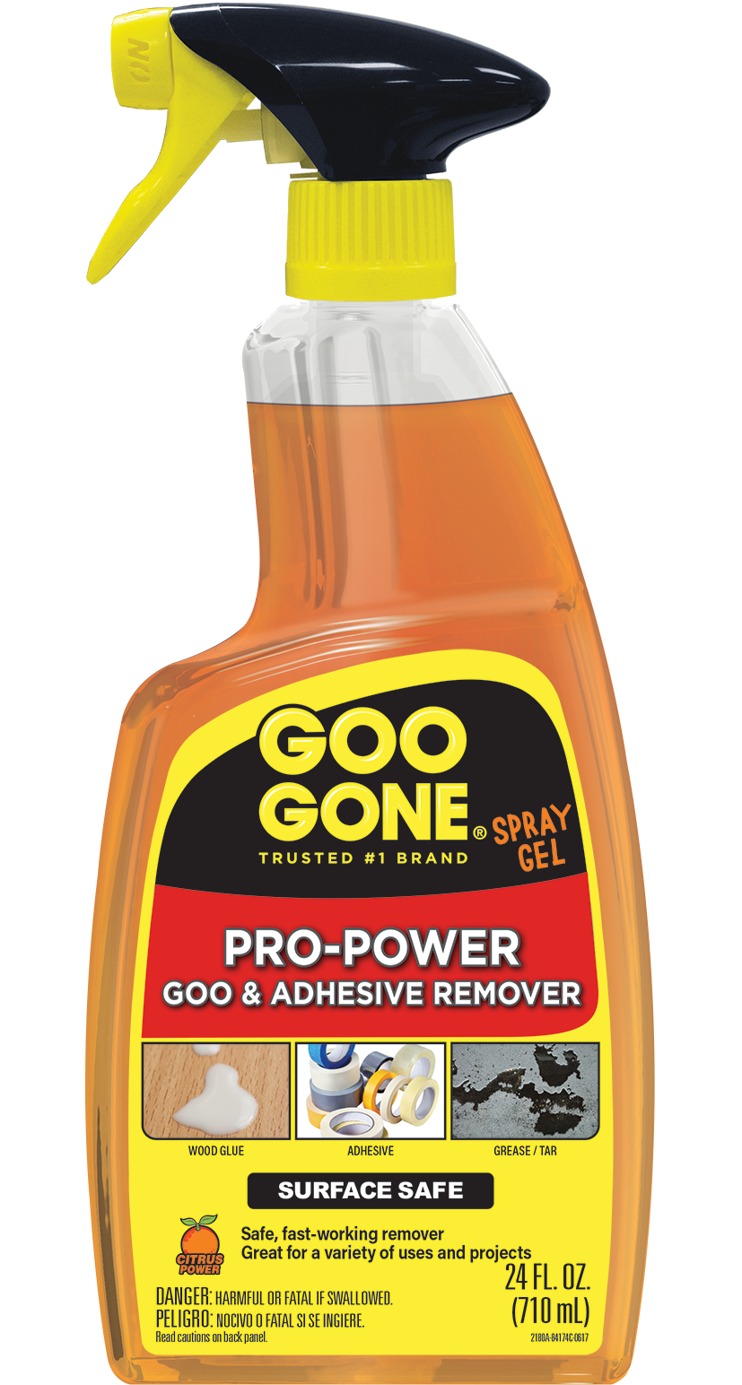 Goo Gone Adhesive Remover Pro-Power Spray Gel - 24 Ounce