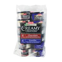 H-E-B Creamy Creations Chocolate & Vanilla Variety Ice Cream Cups