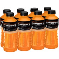 Powerade Sports Drink, Orange, 20 Fl Oz, 8 Count