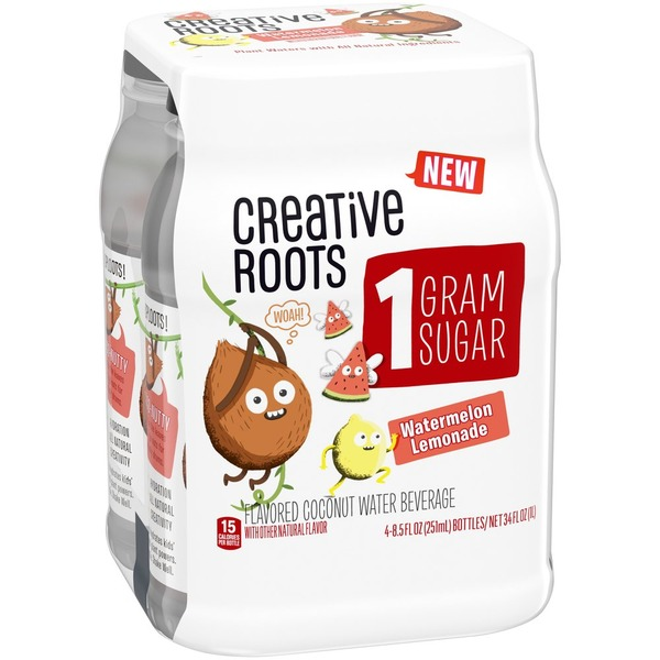 Creative Roots Watermelon Lemonade Coconut Water Beverage