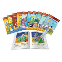LeapFrog, LeapReader, Learn-to-Read 10-Book Bundle, Reading System